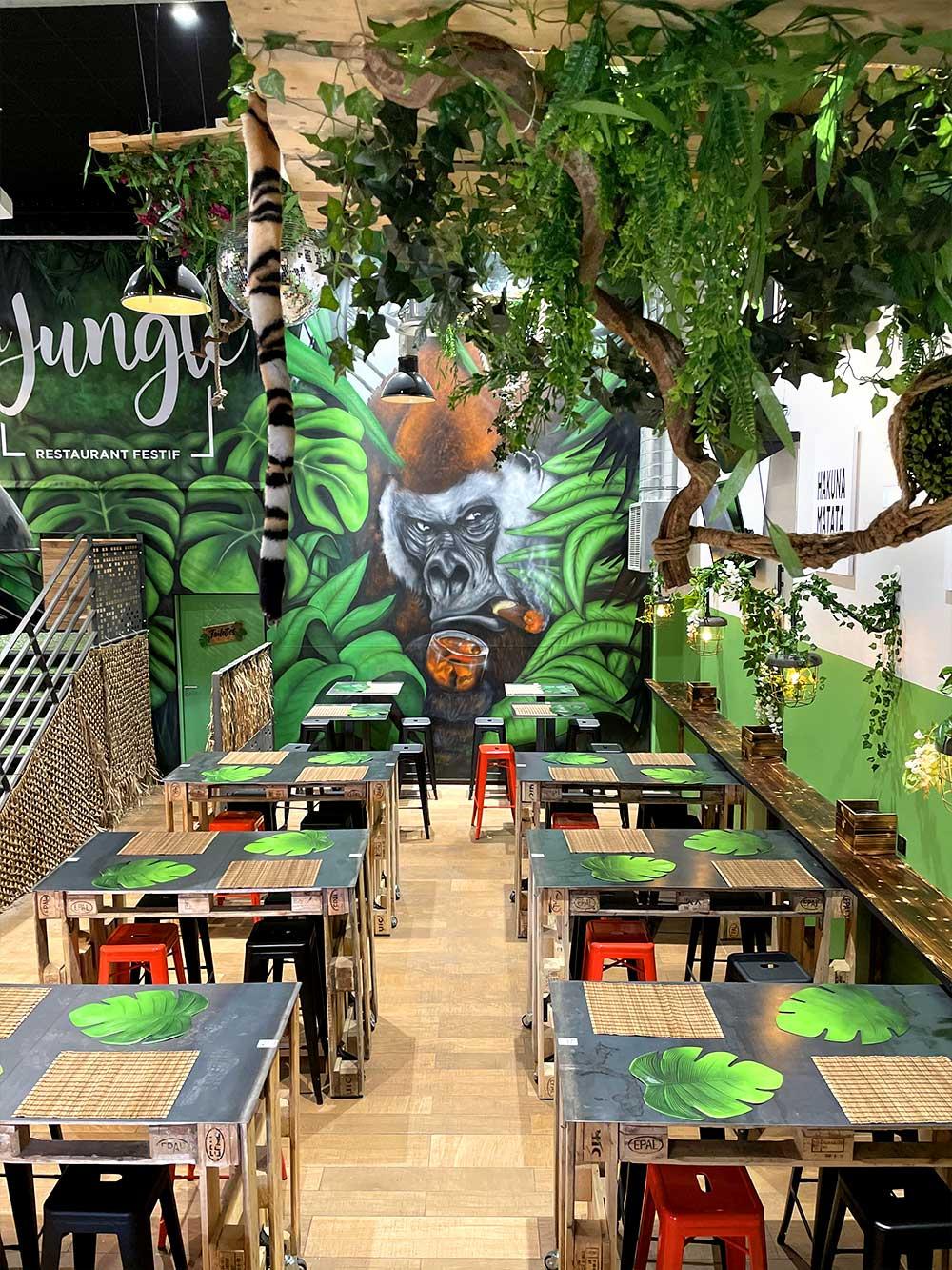 restaurant La Jungle Argonay